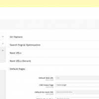 magento 2.1 set home page